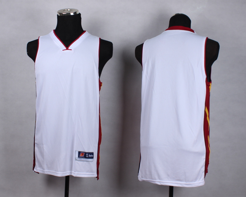 NBA Miami Heat Blank White New Jersey