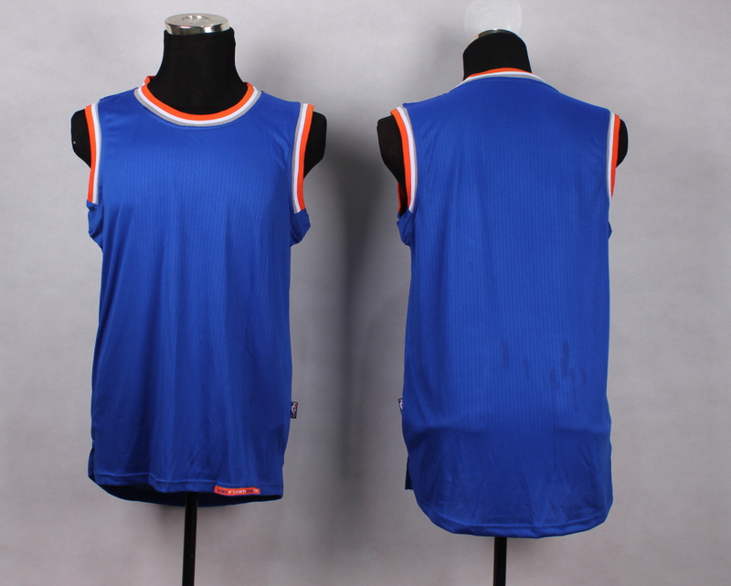 NBA New York Knicks Blank blue New Jersey
