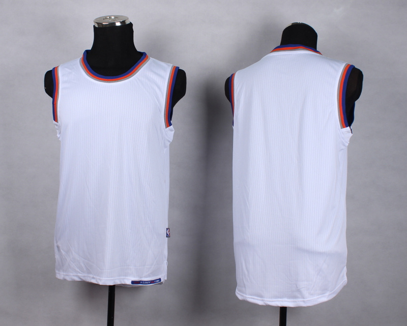 NBA New York Knicks Blank white New Jersey