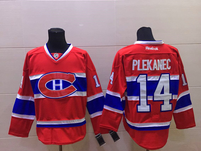 NHL Montréal Canadiens 14 plekanec red Jersey