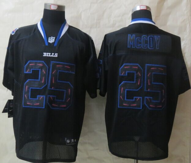 Buffalo Bills 25 McCoy Lights Out Black 2015 New Nike Elite Jerseys