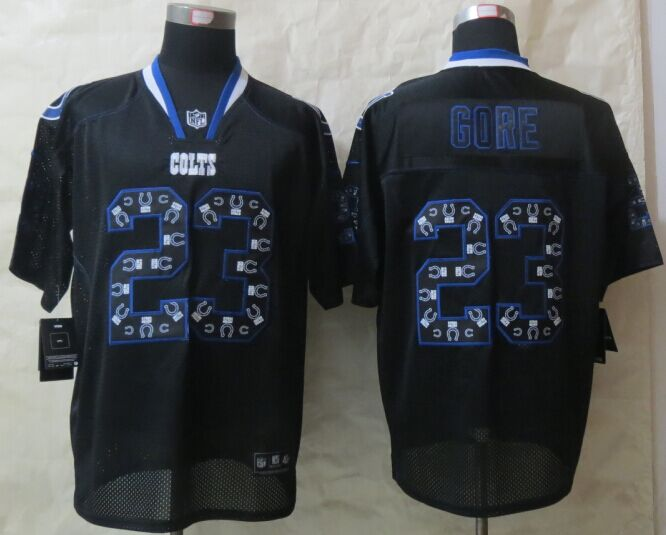 Indianapolis Colts 23 Gore Lights Out Black 2015 New Nike Elite Jerseys