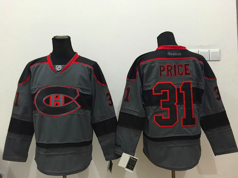 NHL Montreal Canadiens 31 price Black 2015 Jerseys