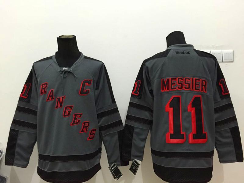 NHL New York Rangers 11 messier Black 2015 Jerseys