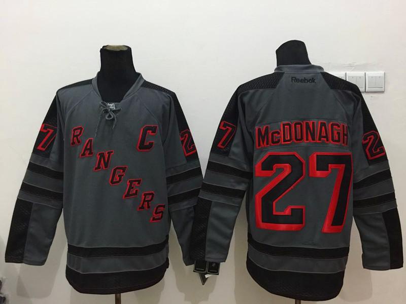 NHL New York Rangers 27 mcdonagh Black 2015 Jerseys