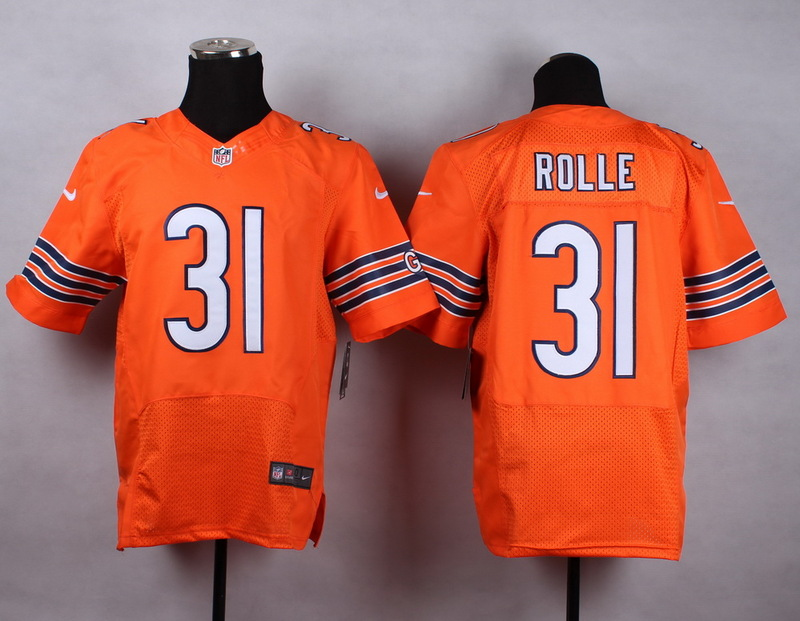 Chicago Bears 31rolle orange 2015 Nike Elite Jersey