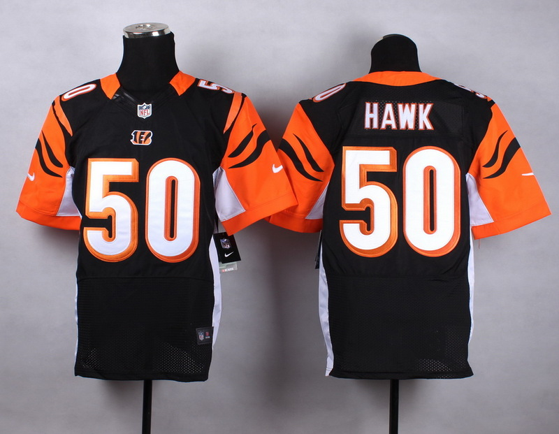 Cincinnati Bengals 50 hawk black 2015 Nike Elite Jersey