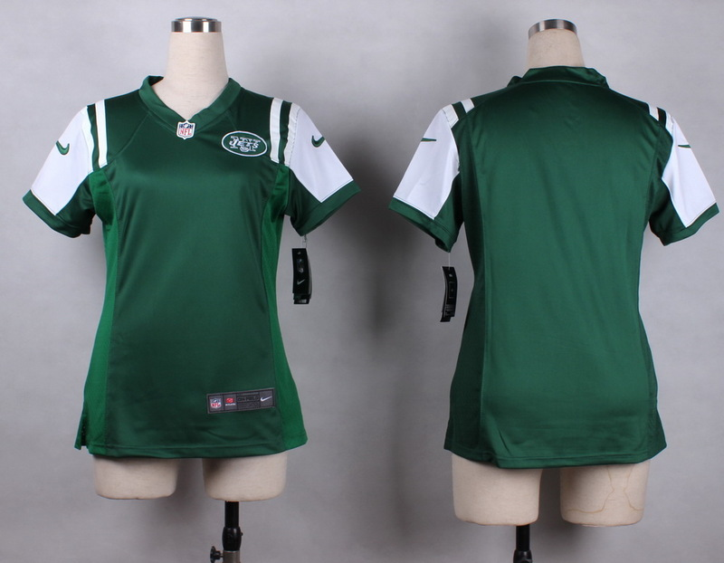 Womens New York Jets Blank green 2015 Nike Game Jersey