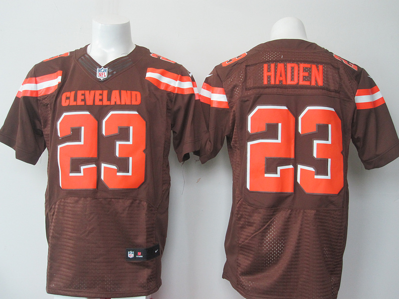 Cleveland Browns 23 haden brown 2015 Nike elite Jersey