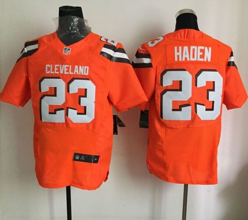 Cleveland Browns 23 haden Orange 2015 Nike elite Jersey