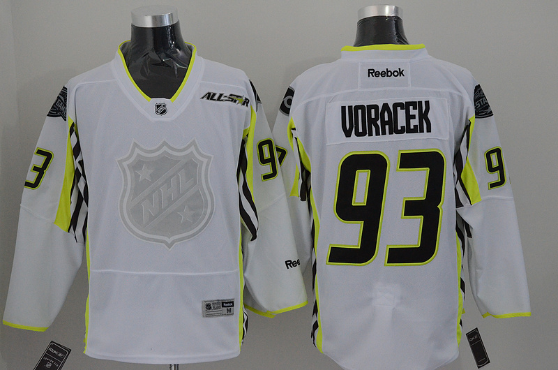 NHL Philadelphia Flyers 93 voracek white 2015 All Star Jersey