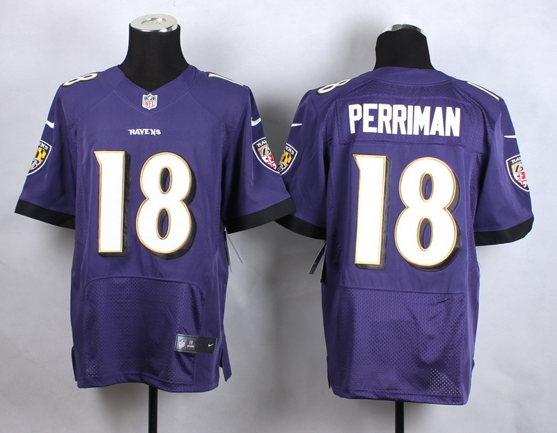 Baltimore Ravens 18 Perriman Purple New 2015 Nike Elite Jersey