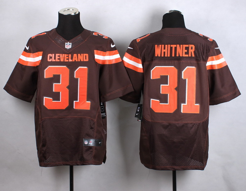 Cleveland Browns 31 whitner brow New 2015 Nike Elite Jersey