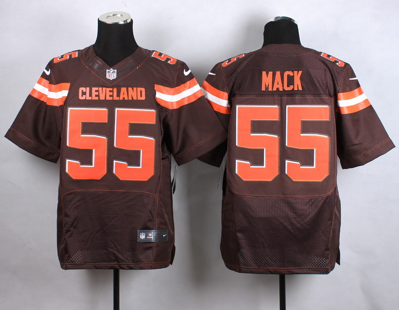 Cleveland Browns 55 mack brow New 2015 Nike Elite Jersey