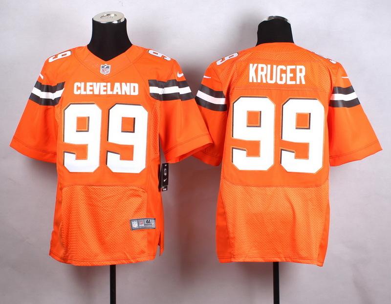 Cleveland Browns 99 kuruger Orange New 2015 Nike Elite Jersey