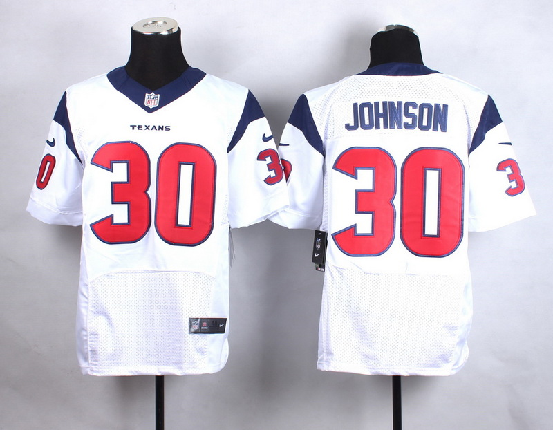 Houston Texans 30 Johnson White New 2015 Nike Elite Jersey