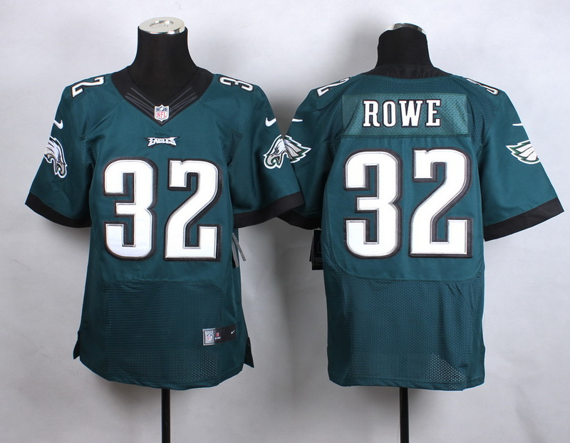 NFL Customize Philadelphia Eagles 32 Rowe Green New 2015 Nike Elite Jersey