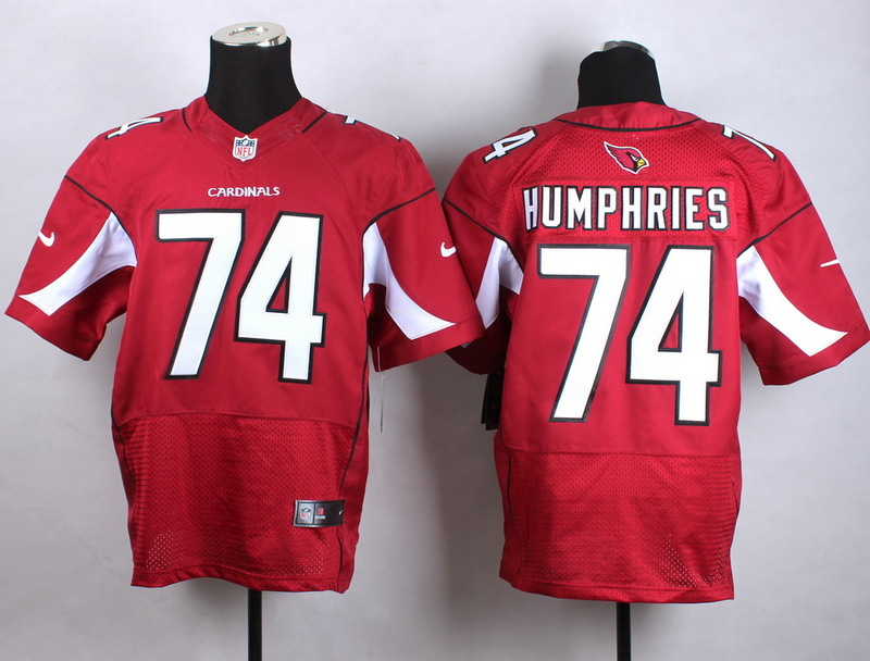 Arizona Cardinals 74 Humphries red Men Nike Elite Jerseys