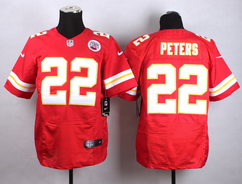 Kansas City Chiefs 22 Peters red Men Nike Elite Jerseys