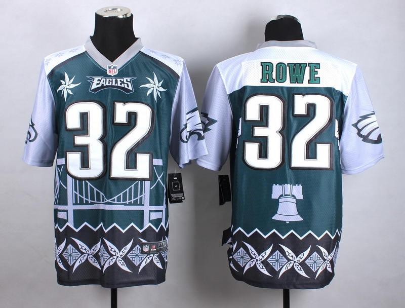 Philadelphia Eagles 32 Rowe Green 2015 New Style Noble Fashion Elite Jerseys