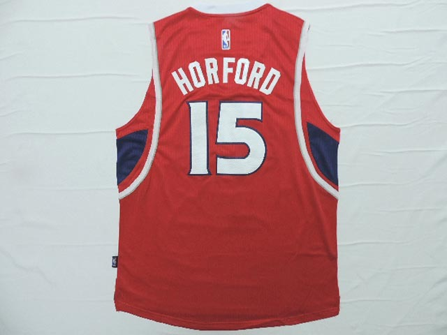 NBA Atlanta Hawks 15 Horford red 2015 Jerseys