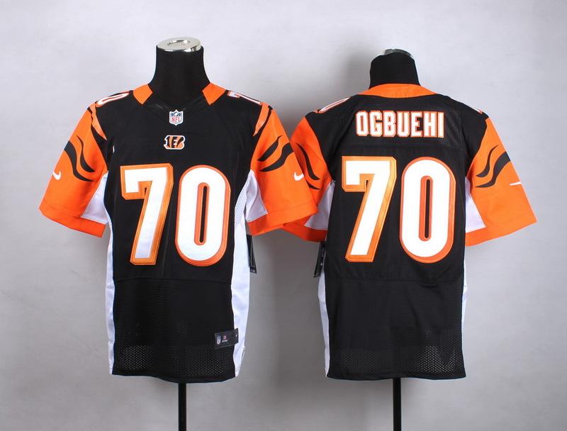 Youth Cincinnati Bengals 70 Ogbuehi Black New 2015 Nike Jersey