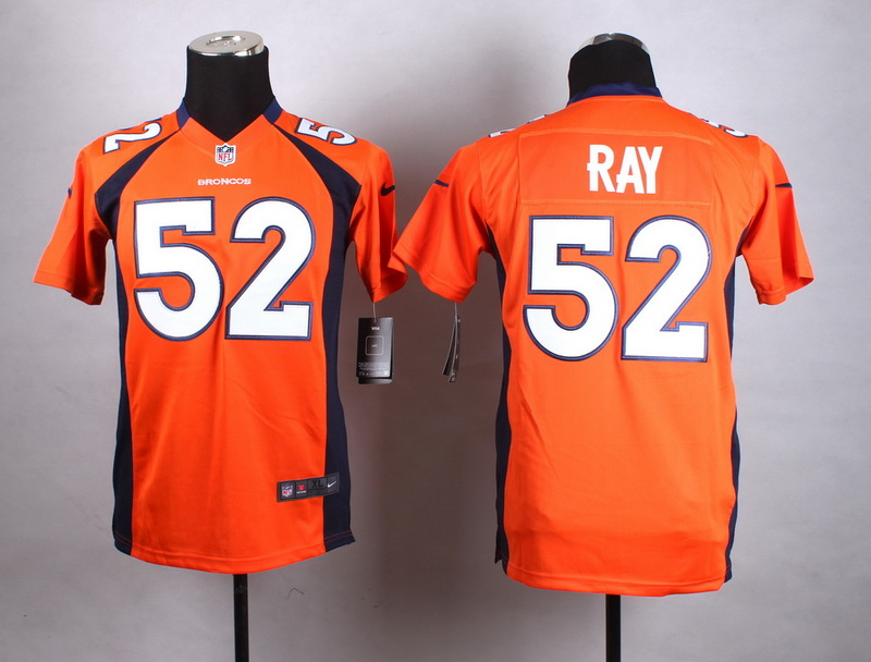 Youth Denver Broncos 52 Ray Orange New 2015 Nike Jersey