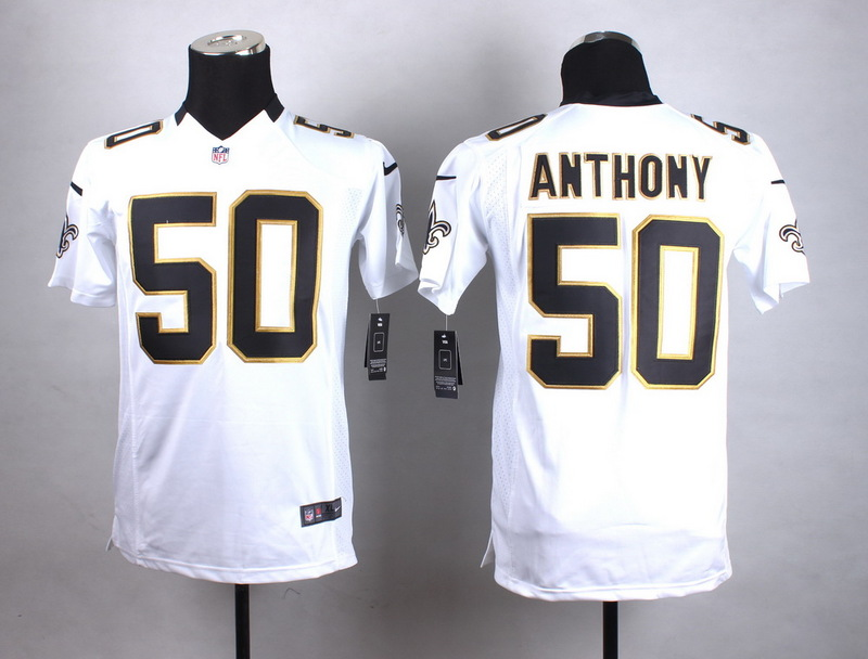 Youth New Orleans Saints 50 Anthony White New 2015 Nike Jersey