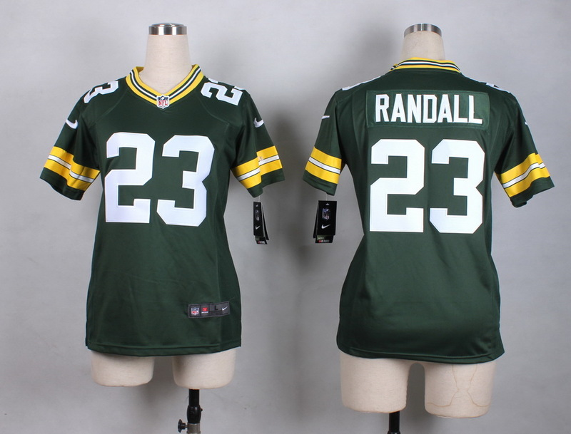 Womens Green Bay Packers 23 Randall Green New 2015 Nike Jersey