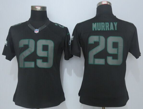 Womens Philadelphia Eagles 29 Murray Impact Limited Black New 2015 Nike Jersey
