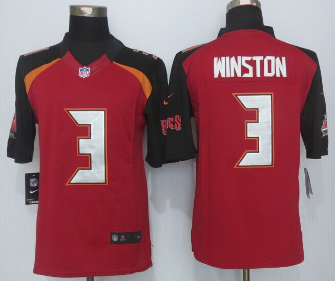Tampa Bay Buccaneers 3 Winston Red 2014 New Nike Limited Jerseys