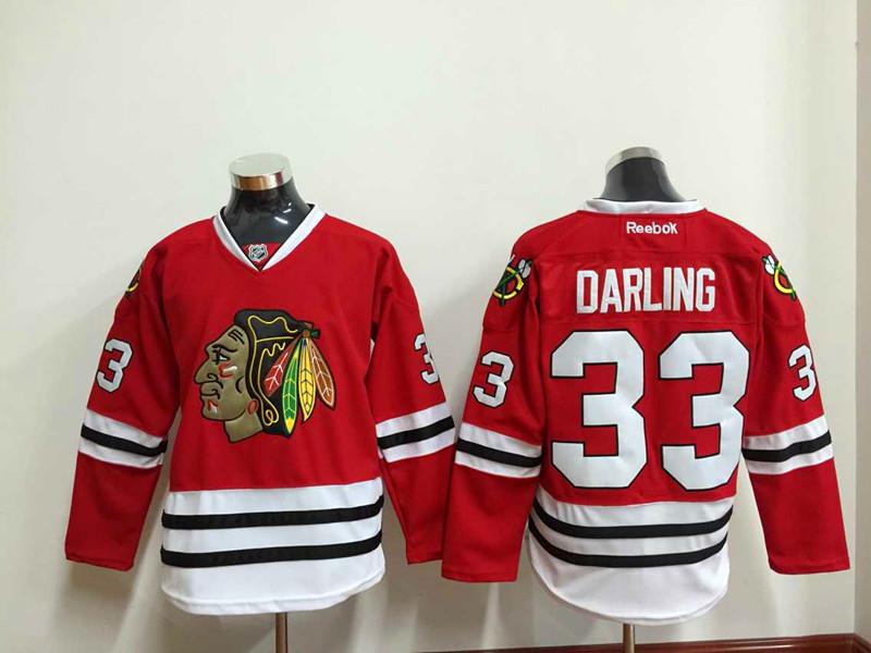 NHL Chicago Blackhawks 33 Darling red 2015 Jersey