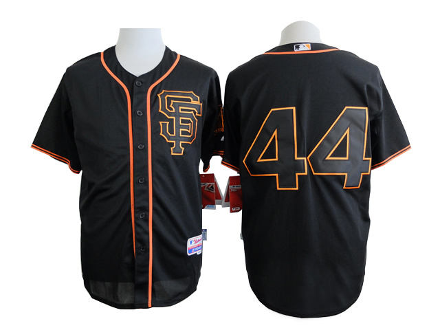 MLB San Francisco Giants 44 black 2015 Jersey