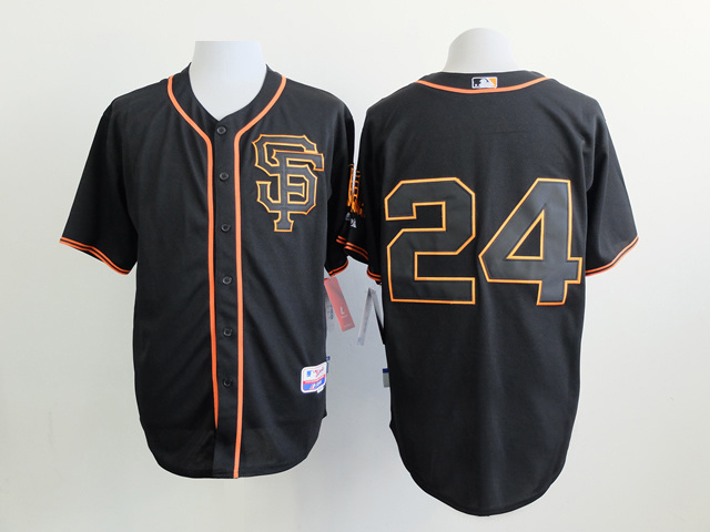 San Francisco Giants 24 Black Jersey