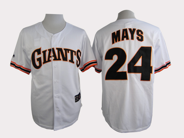 San Francisco Giants 24 Mays White Turn The Clock 1989 Jersey