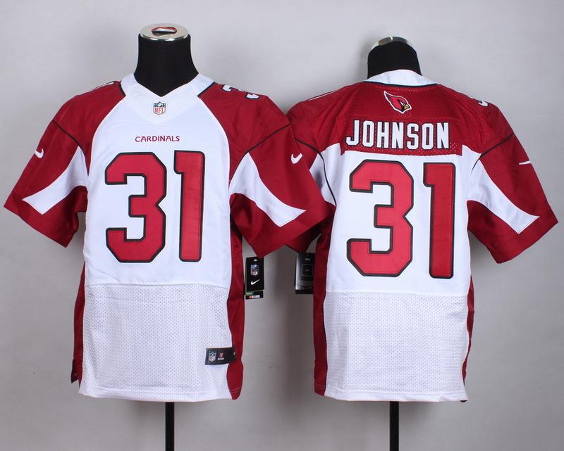 Arizona Cardinals 31 Johnson White 2015 New Nike Elite Jerseys