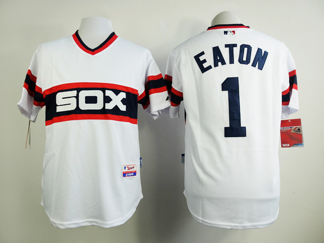 MLB Chicago White Sox 1 Eaton White 2015 New Jersey