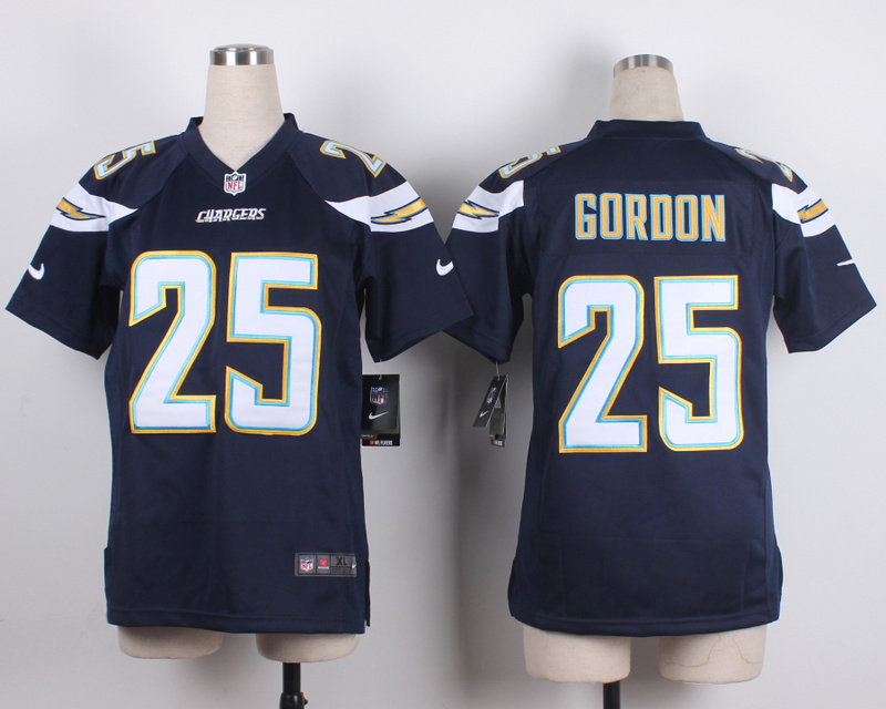 Youth San Diego Chargers 25 Goroon Blue 2015 New Nike Jerseys