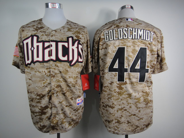 MLB Arizona Diamondbacks 44 goldschmidt 2015 New camo Jersey