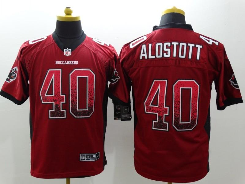 Tampa Bay Buccaneers 40 alstott red 2015 Nike Elite Drift Fashion Jersey