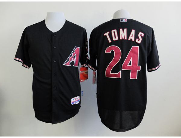 MLB Arizona Diamondback 24 Tomas Black 2015 Jerseys