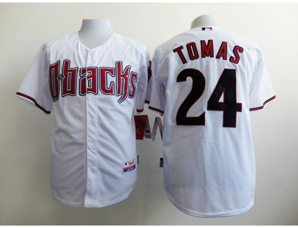 MLB Arizona Diamondback 24 Tomas White 2015 Jerseys
