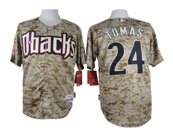 MLB Arizona Diamondbacks 24 Tomas Camo 2015 Jerseys