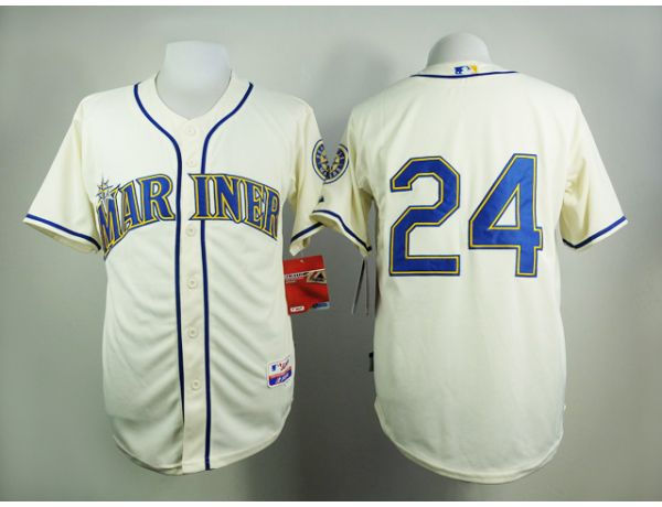 MLB Seattle Mariners 24 Gream 2015 Jerseys