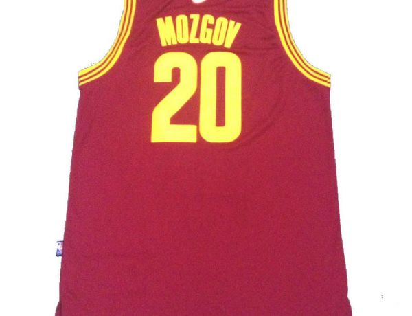 NBA Cleveland Cavaliers 20 Mozgov Red 2015 Jerseys