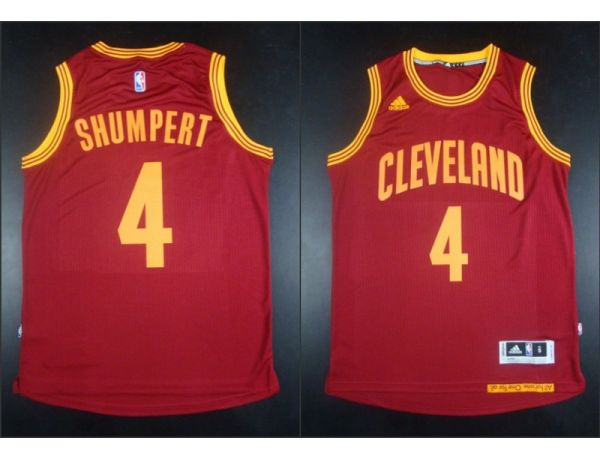 NBA Cleveland Cavaliers 4 Iman Shumpert Red 2015 Jerseys