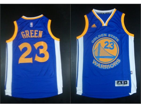 NBA Golden State Warriors 23 Draymond Blue 2015 Jerseys