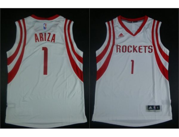 NBA Houston Rockets 1 Trevor Ariza White 2015 Jerseys