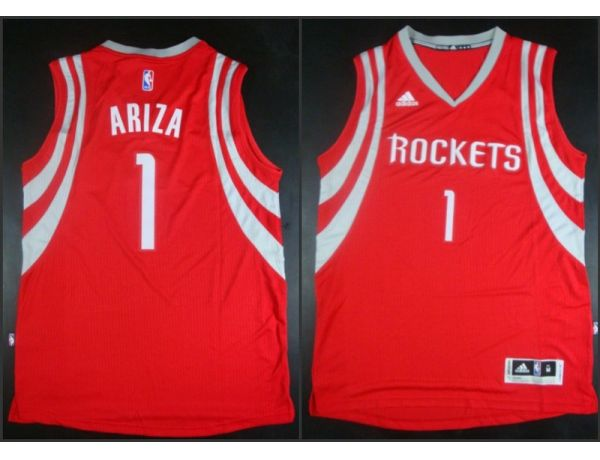 NBA Houston Rockets 1 Trevor Ariza red 2015 Jerseys