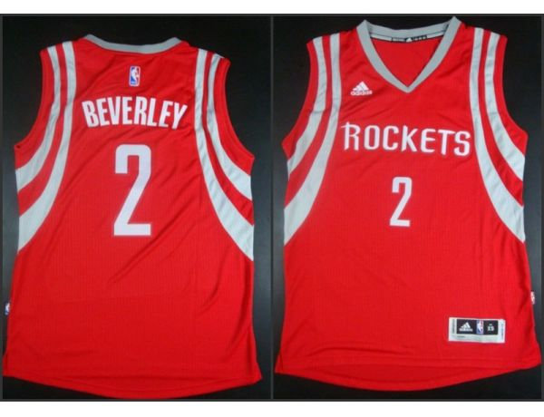 NBA Houston Rockets 2 Patrick Beverley red 2015 Jerseys